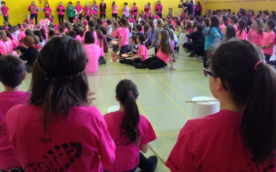 Pink Shirt Day, an anti bullying campaign