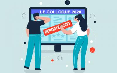 COVID-19 – Le Colloque de la FPFA est reporté à 2021