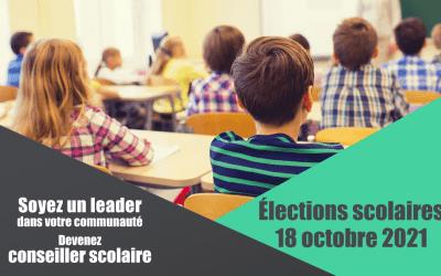 Élections scolaires 2021
